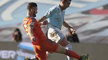 Der 23-jährige Mustafi machte im Spiel gegen Celta Vigo eine gute Figur, steuerte sogar selbst einen Treffer bei.