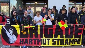 """Neue Fan-Spezies auf der Tribüne: """"Brigade Strampe"""" feuert Fußball-Schiris an"""