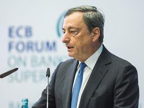 Schreitet die EZB um ihren Präsidenten Mario Draghi zur Tat?