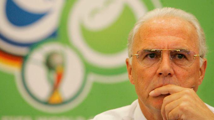 Franz Beckenbauer bleibt die Schlüsselfigur in der WM-Affäre.