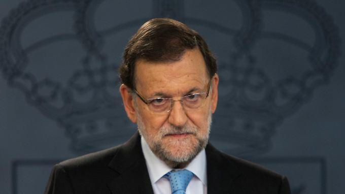 """Will die """"Einheit der Nation"""" verteidigen: Spaniens Ministerpräsident Rajoy."""