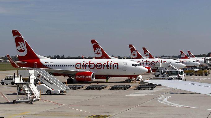 Die Gemeinschaftsflüge mit Etihad gelten als überlebenswichtig für Air Berlin.