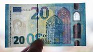 Europa im Fenster macht's Fälschern schwer: So sieht der neue 20-Euro-Schein aus