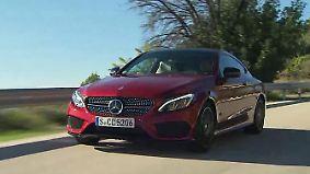 Eleganz und Fahrspaß: Mercedes C-Klasse Coupé bietet jetzt mehr Platz