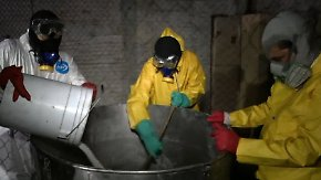 Kamerateam besucht Drogenküche: Sinaloa-Kartell gibt Einblick in Crystal-Meth-Produktion