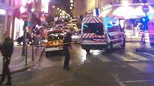 Schießerei, Explosionen, Geiselnahme: Dutzende Menschen sterben bei Anschlägen in Paris