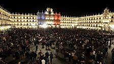 oder dem zentralen Platz von Salamanca.