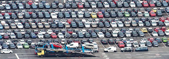 Leichtes Minus für VW bei den ACEA-Neuzulassungen: Im Oktober waren es 'nur' 277.000 Fahrzeuge.