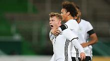 + Fußball, Transfers, Gerüchte +: U21 feiert wichtigen Sieg gegen Österreich