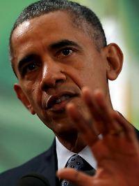 US-Präsident Obama bittet um Geduld.