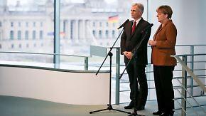 Ordnung statt Schließung: Merkel und Faymann: Politik der offenen Grenzen alternativlos