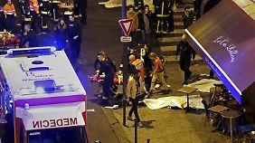Die großkalibrigen Kugeln der Kalaschnikows, mit denen die Attentäter das Feuer im Konzertsaal Bataclan sowie auf mehrere Bars, Cafés und Restaurants eröffneten, verletzten die Opfer schwer.