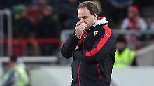 Desaster gegen Augsburg: VfB Stuttgart trennt sich von Trainer Zorniger