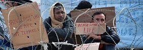 Endstation Idomeni: Mazedonien sortiert Flüchtlinge rigoros aus