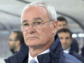 Der Architekt des Erfolgs: Trainer Claudio Ranieri.