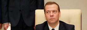 Dmitri Medwedjew: System von Antworten.