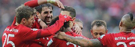 Hamburg und Hannover feiern: FC Bayern dominiert, Hoffenheim leidet