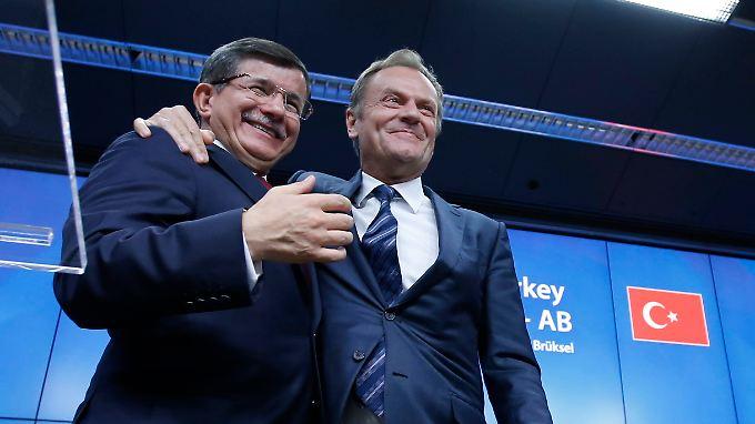 """""""Tauschgeschäft"""" in Brüssel: EU verzichtet für Flüchtlingshilfe der Türkei auf Visa"""