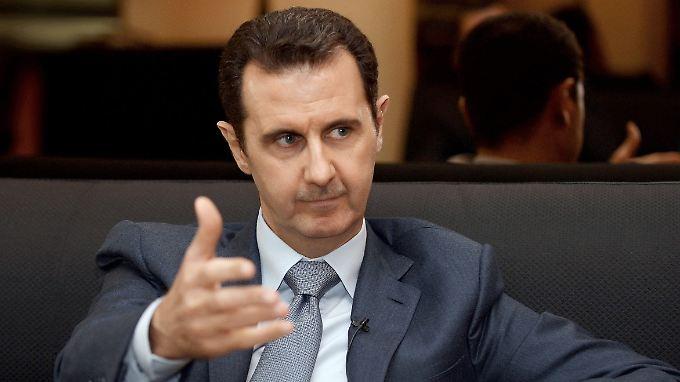 Das tschechische Fernsehen führte ein Interview mit Baschar al-Assad.
