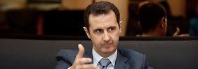 Andauern des Krieges: Assad gibt dem Westen die Schuld