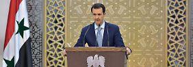 Baschar al-Assad ist für die Deutschen kein Partner.