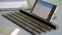 Bluetooth-Keyboard mit Pfiff: LG Rolly ist eine geniale Roll-Tastatur