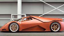 Unter seiner Motorhaube kauert der 4,6 Liter große Northstar-V8 aus dem Hause General Motors.