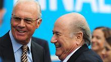 + Fußball, Transfers, Gerüchte +: Blatter kontra Beckenbauer in WM-Affäre