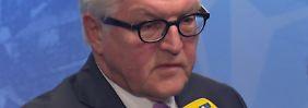 """Steinmeier zum Syrien-Mandat: """"Werden sehr sorgfältig an dem politischen Prozess arbeiten"""""""