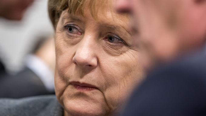 Wie viel Rückhalt hat Bundeskanzlerin Merkel in der CDU? Der Parteitag in Karlsruhe dürfte ein paar Hinweise geben.
