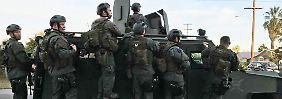 Verdächtige erschossen: Mindestens 14 Tote bei Amoklauf in USA