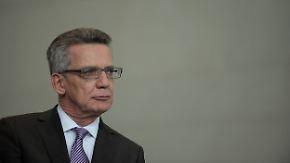 Rückkehr zur Einzelfallprüfung: De Maizière verschärft Asylregeln für Syrer