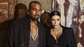 Promi-News des Tages: Sohn von Kim Kardashian und Kanye West ist da
