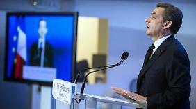 Enttäuscht: Ex-Präsident Nicolas Sarkozy.