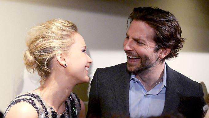 Jennifer Lawrence und Bradley Cooper mögen sich gerne. Sehr, sehr gerne.