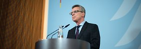 Prognose bereits übertroffen: Innenminister: Fast 965.000 Flüchtlinge bis Ende November