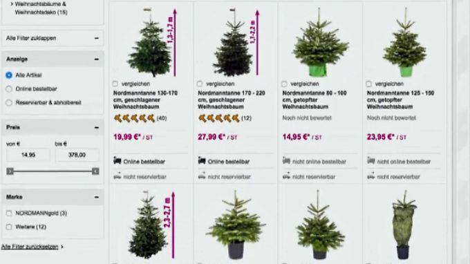 h sslich ist kaum einer weihnachtsb ume online bestellen. Black Bedroom Furniture Sets. Home Design Ideas