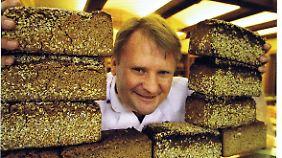 Bäckermeister mit Leib (oder Laib) und Seele: Mark Riemann.