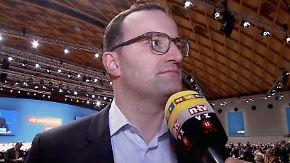 """Spahn beim CDU-Parteitag: """"Können hier nicht jedem Schutz bieten"""""""