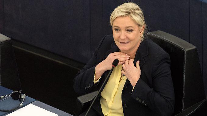 Die Chefin des französischen Front National, Marine Le Pen.
