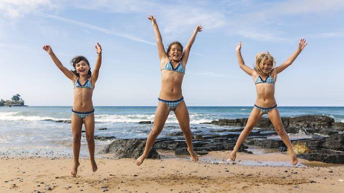 Kinder sollten Spaß an der Bewegung haben.