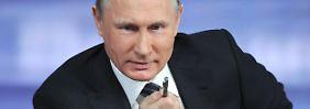 """Ölpreisverfall schlimmer als Strafen: Putin nennt Sanktionen """"absurdes Theater"""""""