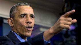 Große Pläne fürs letzte Amtsjahr: Obama verspricht starken Endspurt