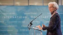 """IWF-Chefin Christine Lagarde: """"Es ist ein willkommener und wichtiger Schritt nach vorne."""""""