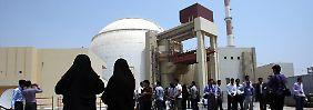 Das Atomkraftwerk im iranischen Buschehr (Archivbild).