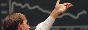 Verluste von fast 3 Prozent: Dax gerät in Abwärtsstrudel