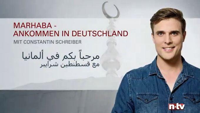 Arabisch mit deutschen Untertiteln: Marhaba, Weihnachtsausgabe: Deutsche Gedichte