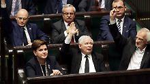 Rechtsstaatlichkeit angemahnt: EU schickt Polen Brandbrief