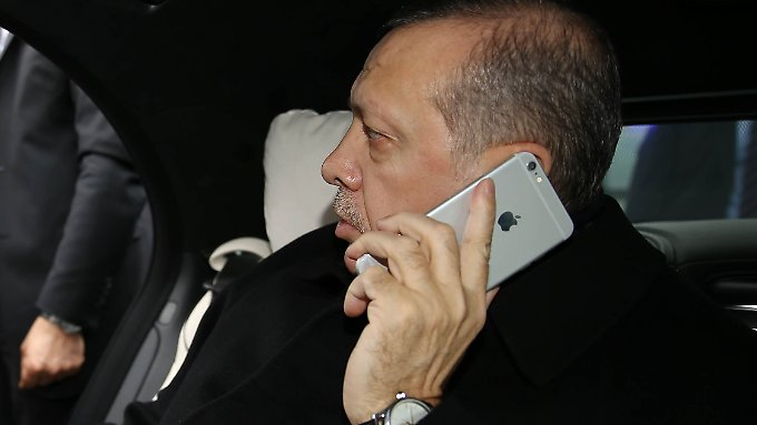 Seiner Boykottdrohung gegen Apple ließ Erdogan bislang keine Taten folgen.