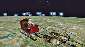Mit 1000 km/s um die Welt: US-Militär verfolgt Reiseroute des Weihnachtsmanns